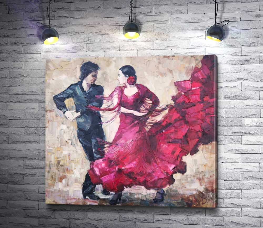 """Картина """"Танцоры. Испанское танго"""""""