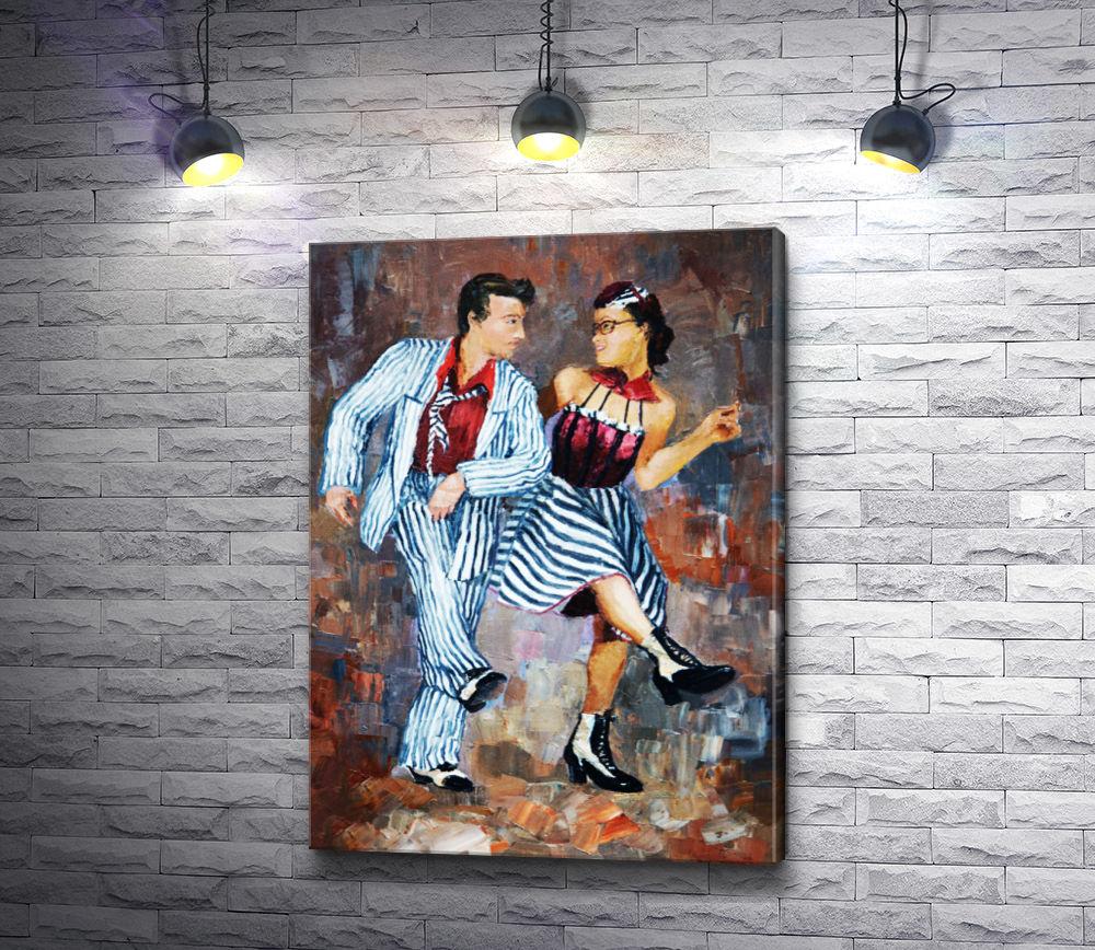 "Картина ""Танцующая пара"""