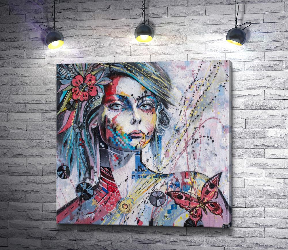 """Картина """"Арт-портрет девушки """""""