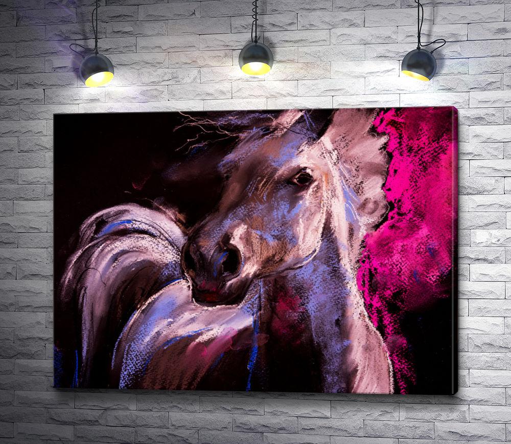 """Картина """"Изящная лошадь """""""