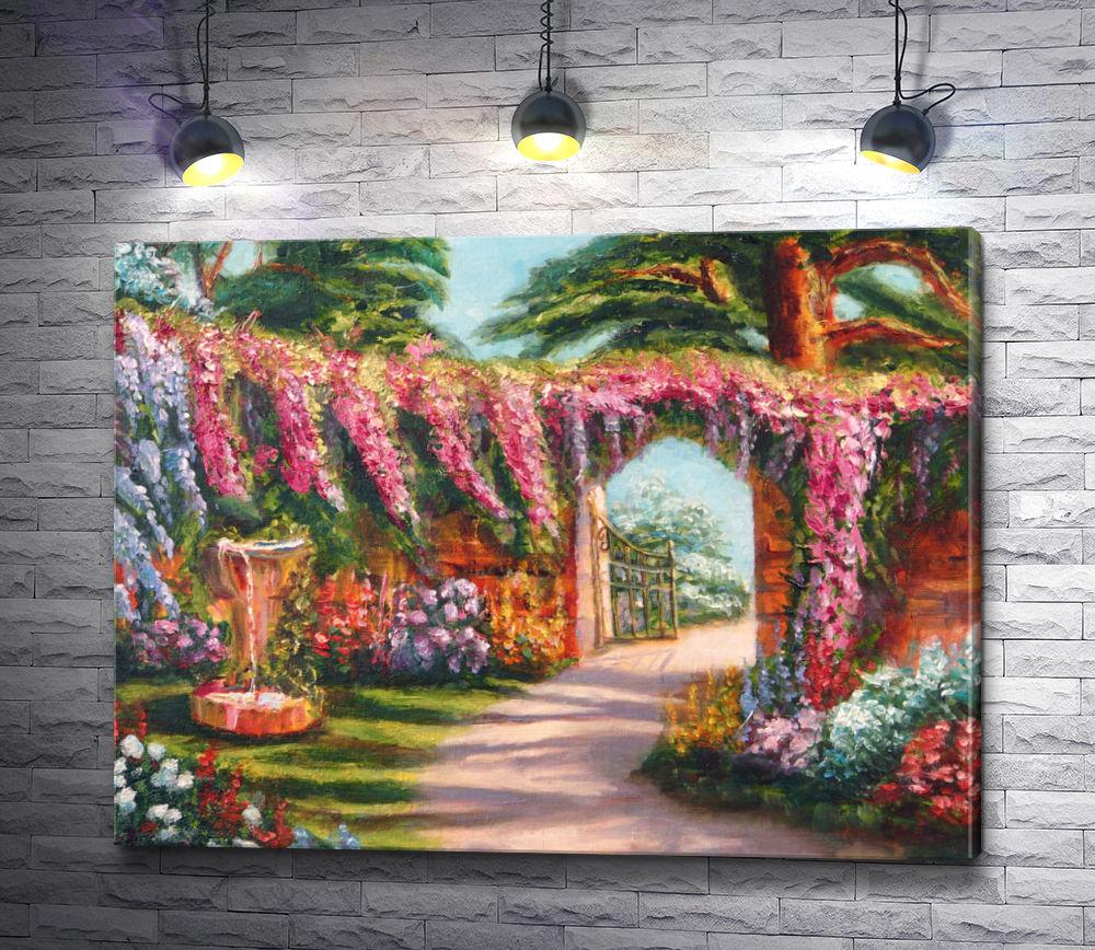 """Картина """"Цветочный парк"""""""