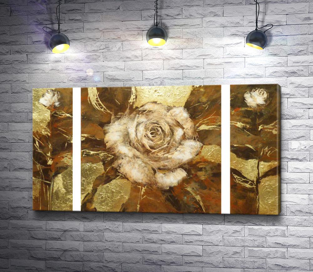 "Картина ""Белые розы"""
