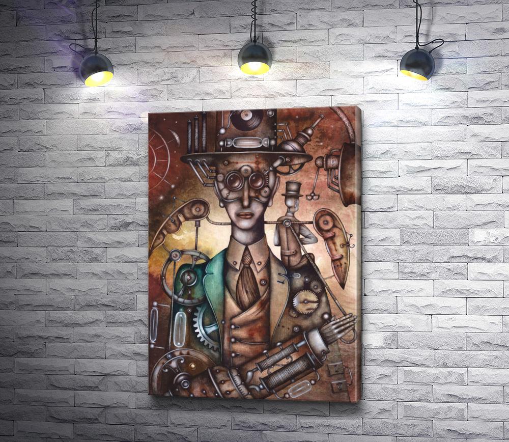 """Картина """"Механический человек"""""""