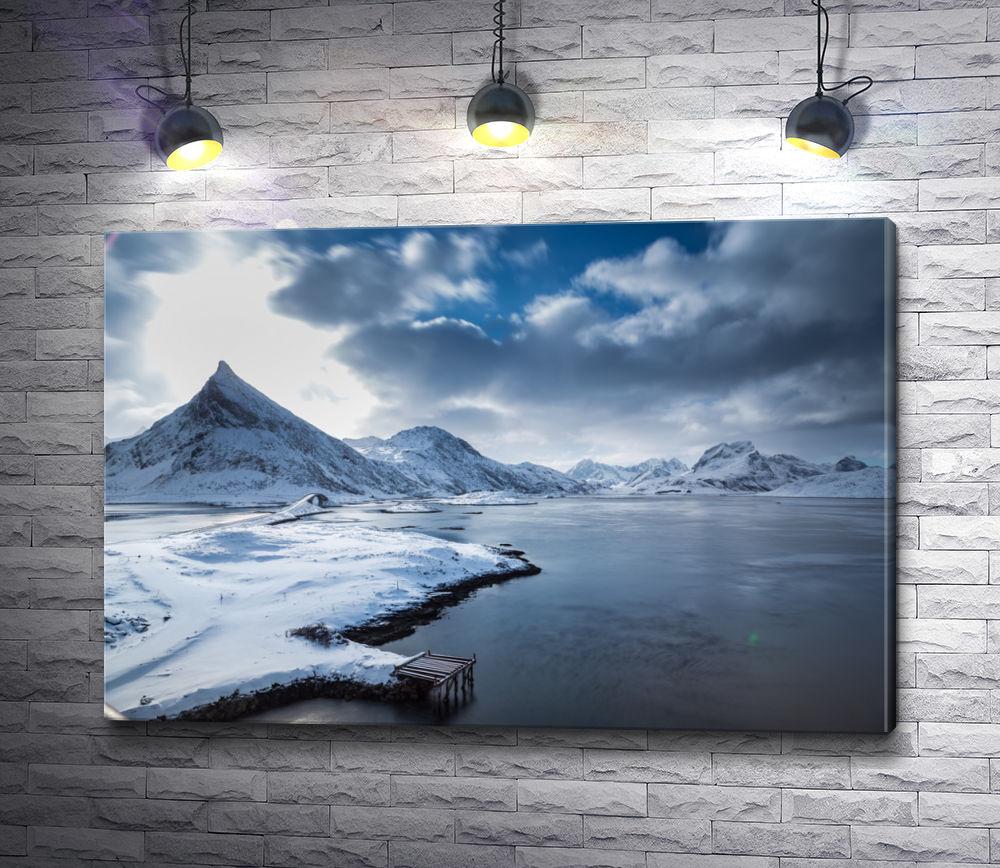"""Картина """"Холодные горы"""""""
