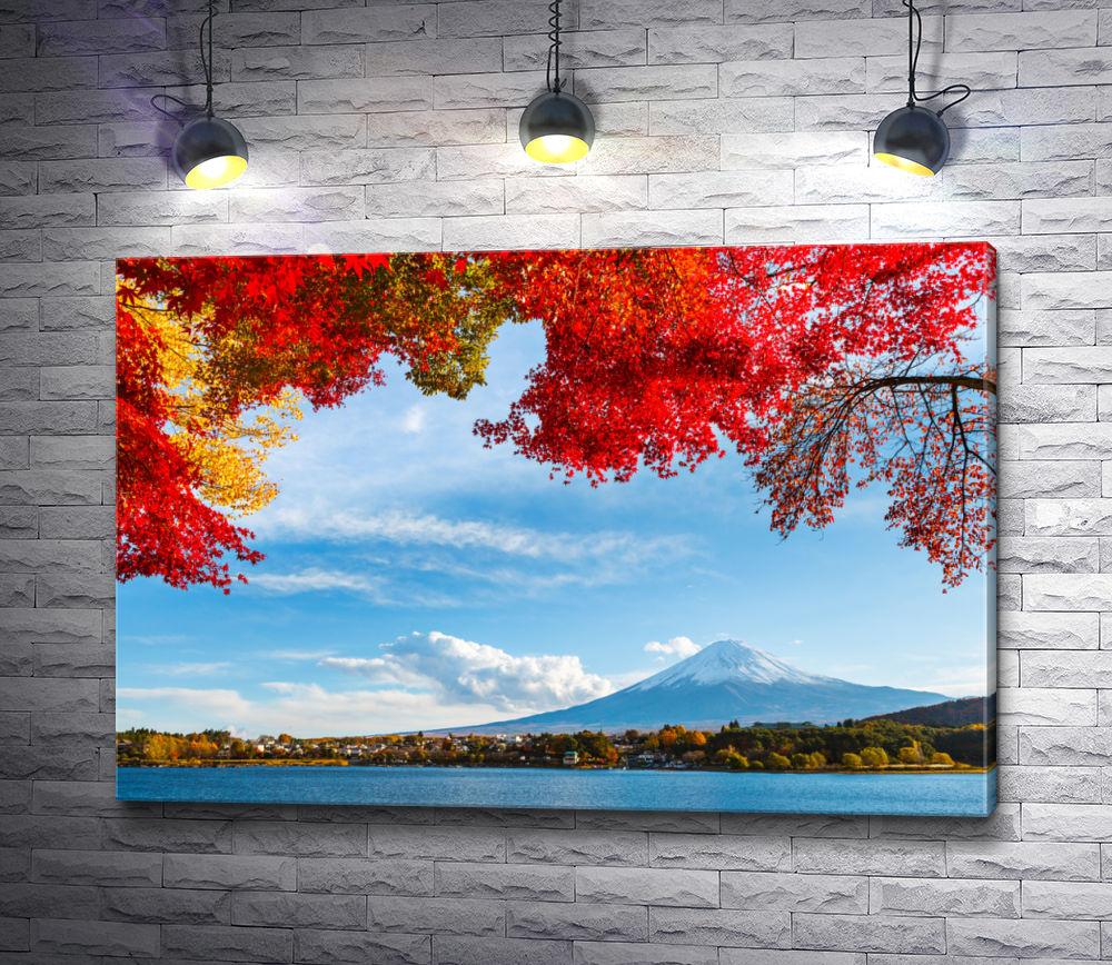 """Картина """"Великолепная гора Фудзияма """""""