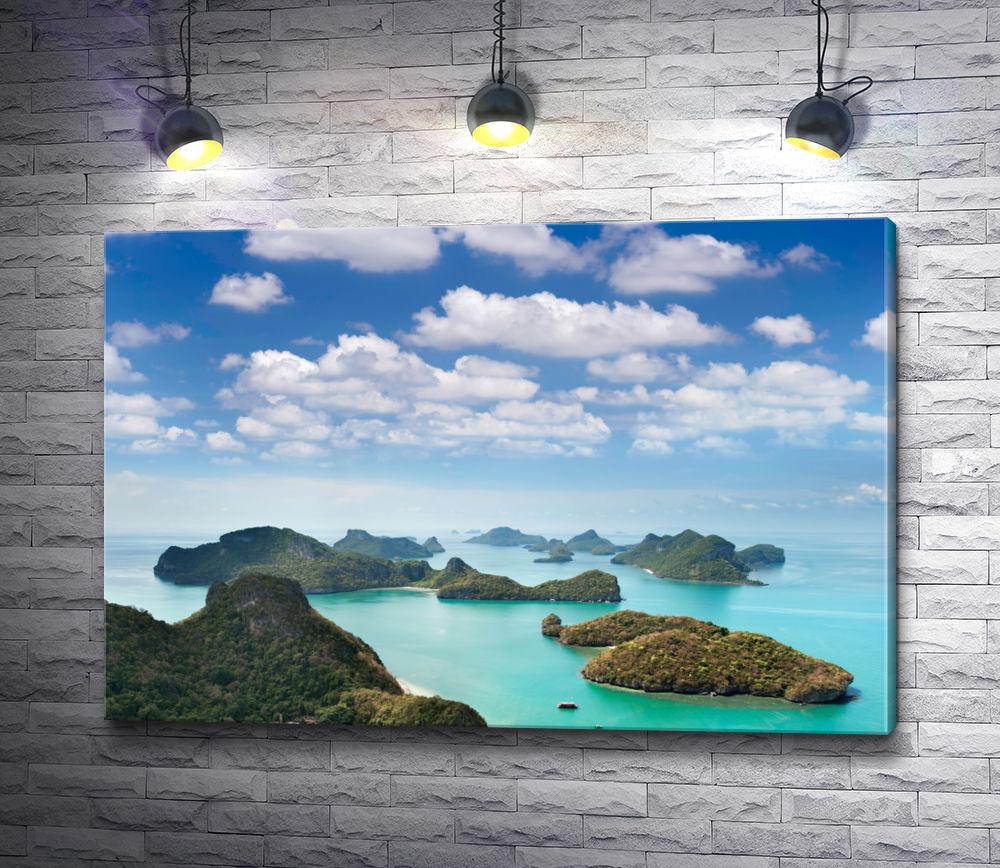 """Картина """"Острова Таиландского залива"""""""