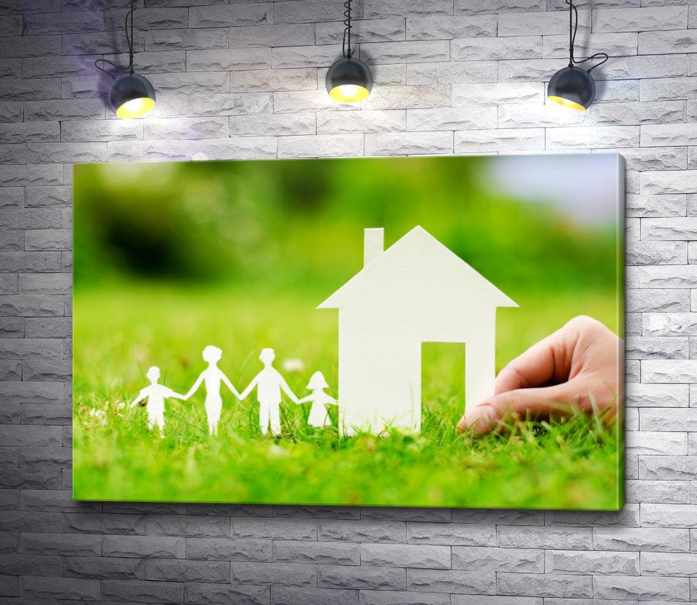 """Картина """"Счастливая семья"""""""