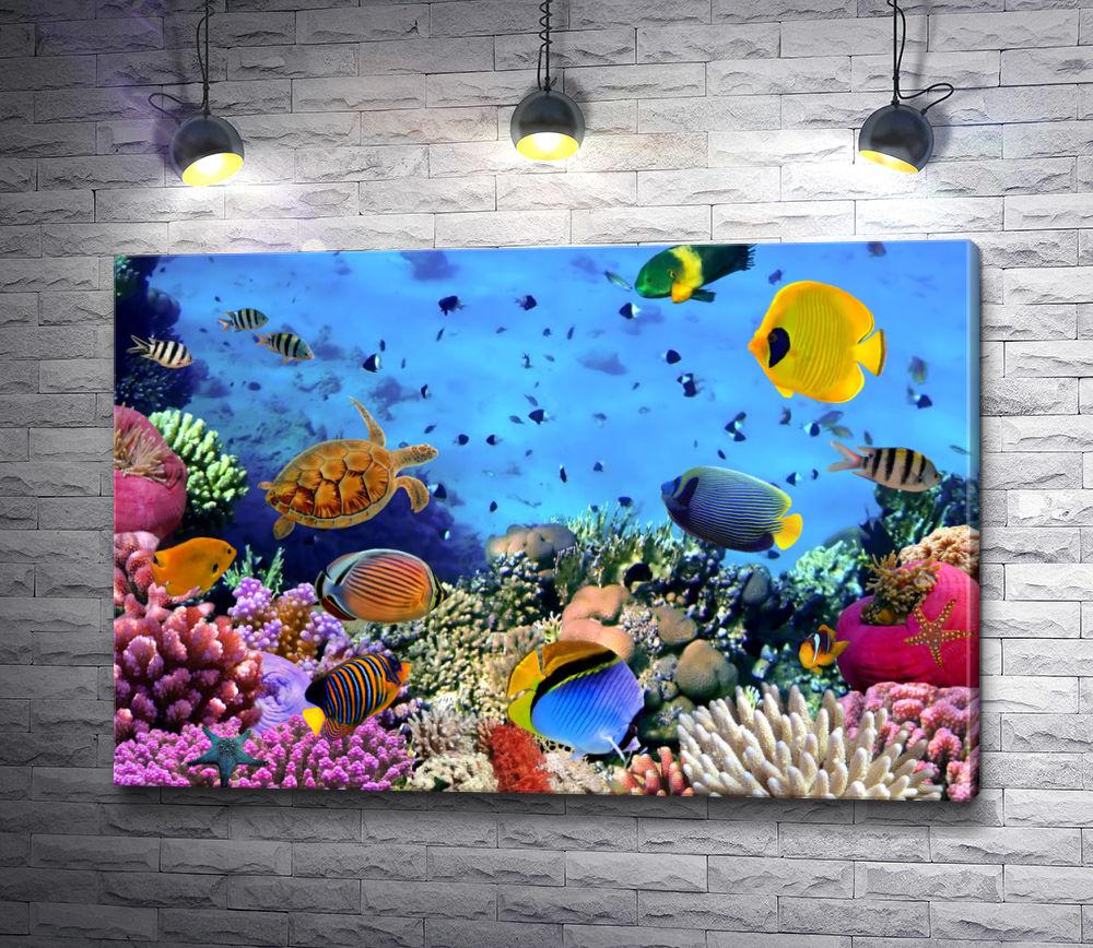 """Картина """"Красочный океан"""""""