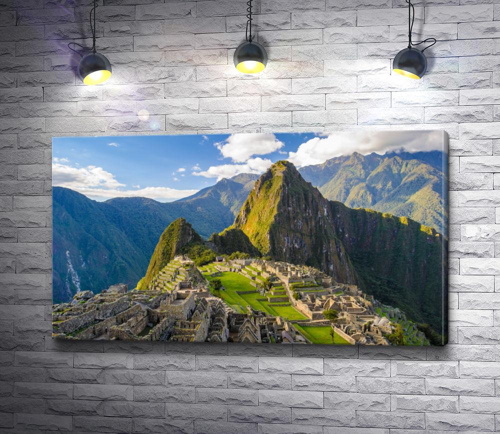 """Картина """"Горный хребет в Перу"""""""