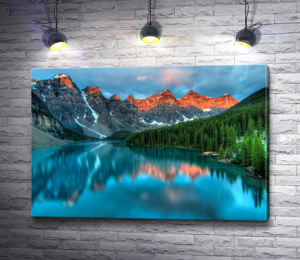 "Картина ""Ледниковое озеро Канады"""