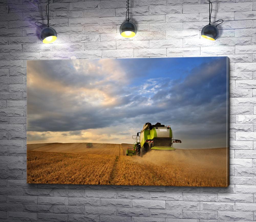 """Картина """"Собираем урожай"""""""