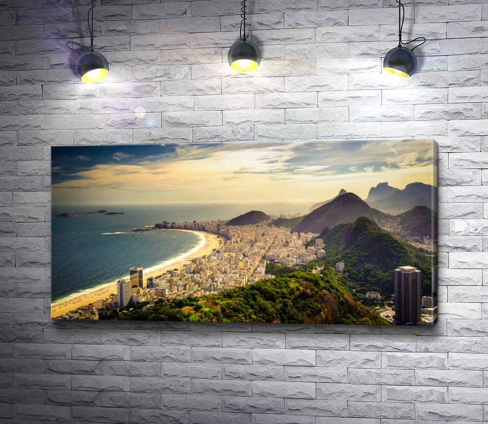 "Картина ""Берег Рио-де-Жанейро"""