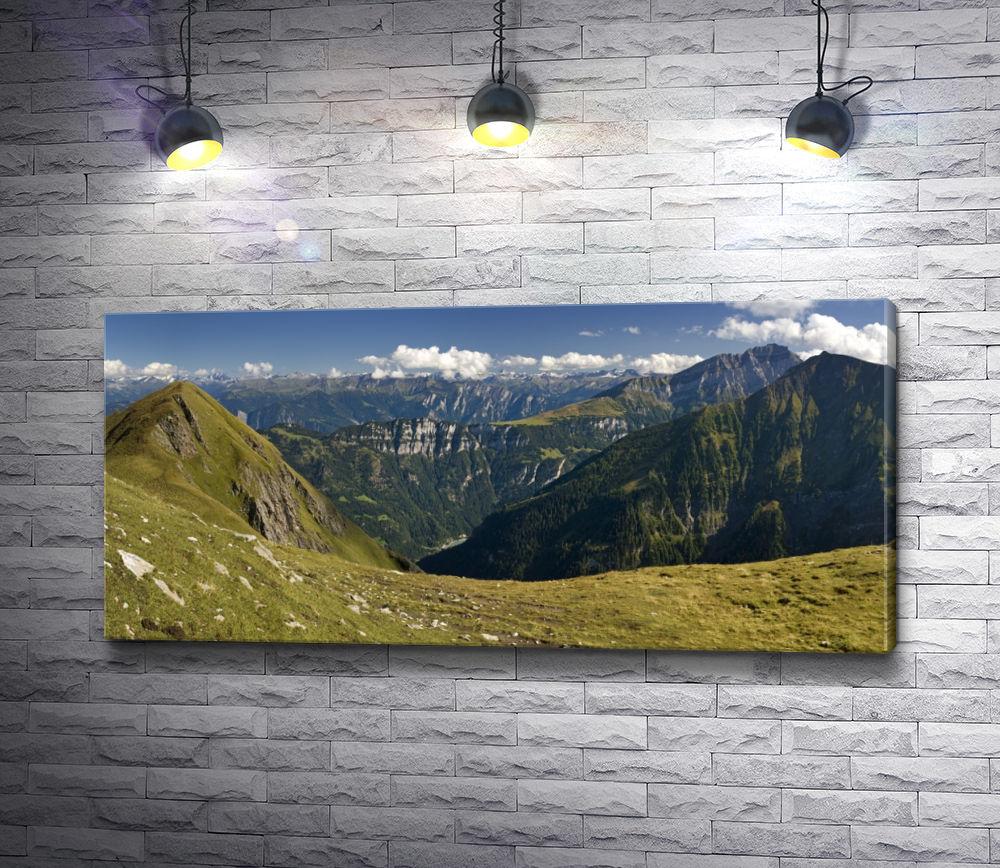 """Картина """"Вершины достающие до небес"""""""