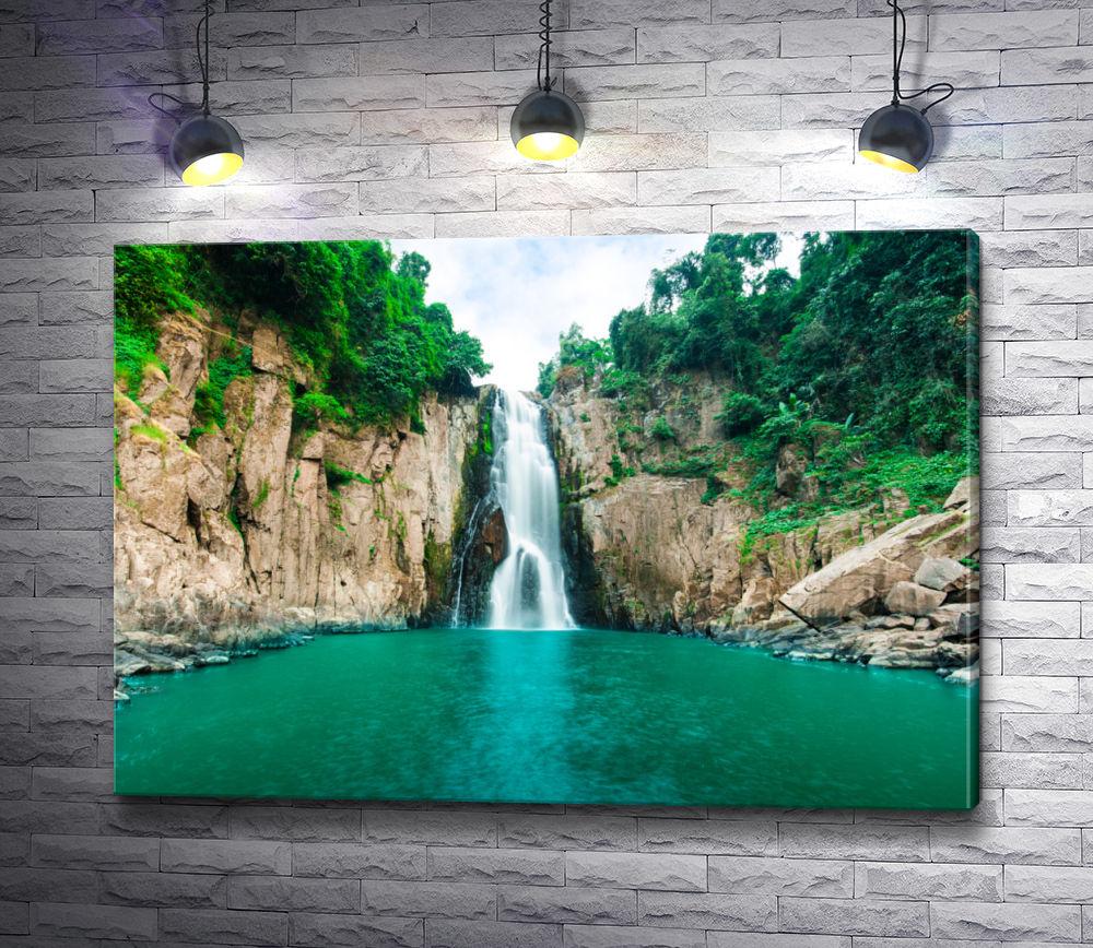 """Картина """"Водопад ручья Руфабго"""""""
