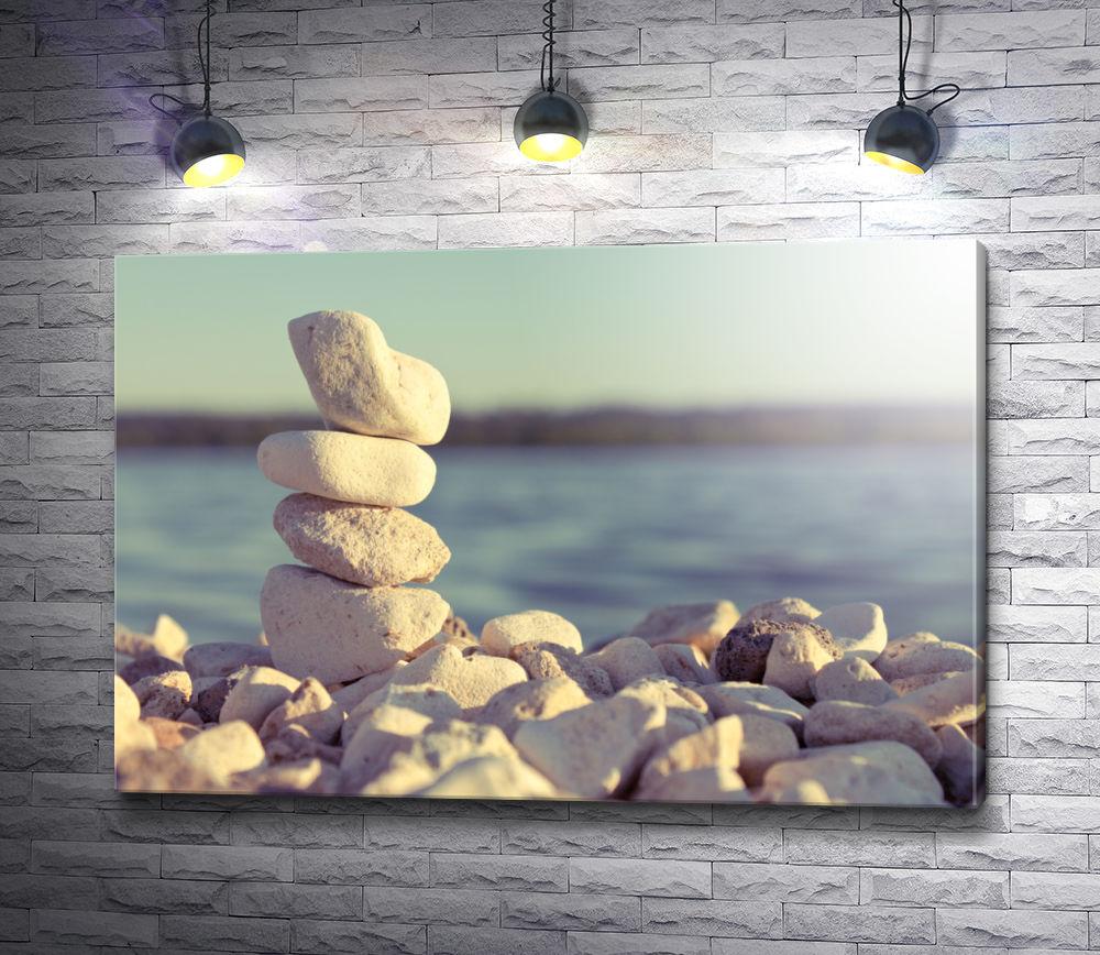 """Картина """"Камни у моря"""""""