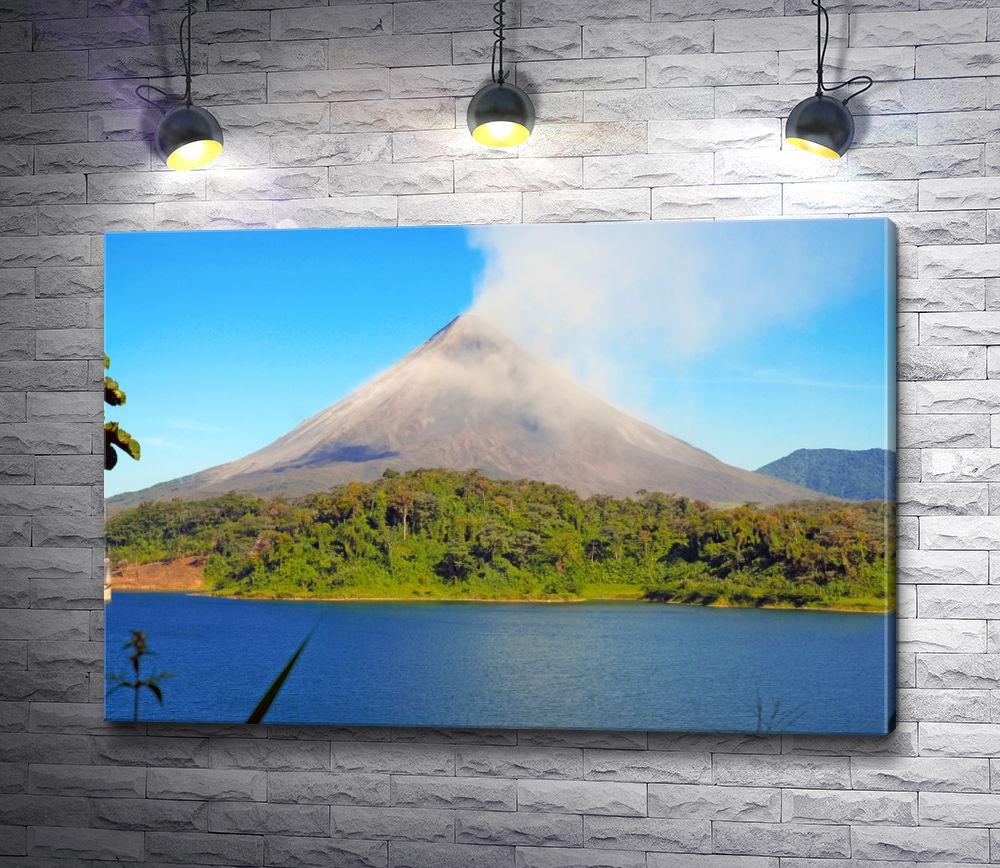 """Картина """"Вода у подножья вулкана"""""""
