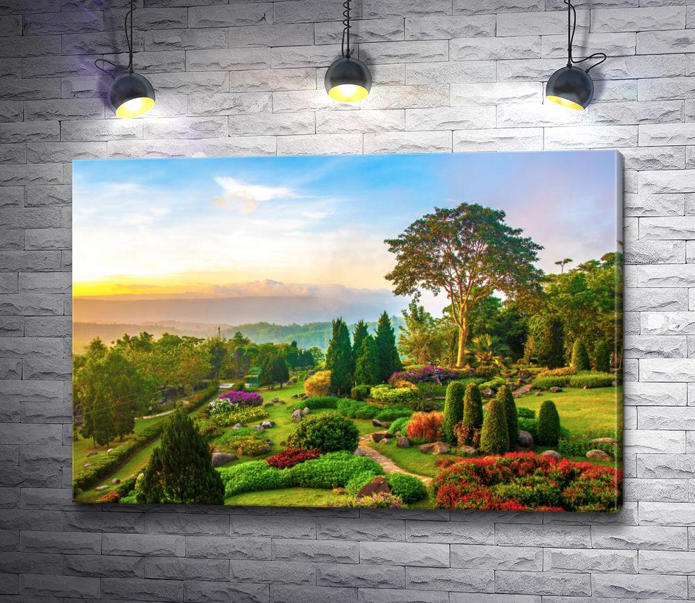 """Картина """"Невероятной красоты парк"""""""