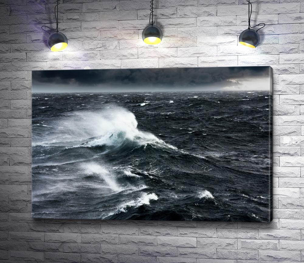 """Картина """"Бушующее море"""""""