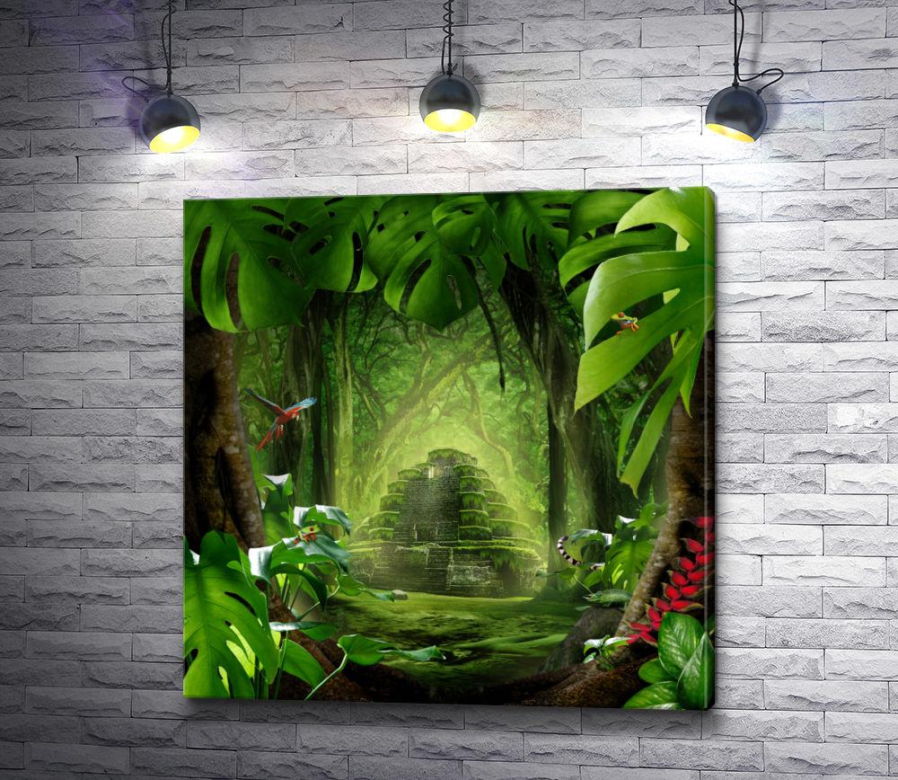 "Картина ""Пирамида Майя"""