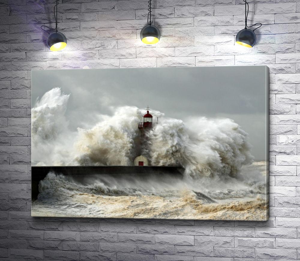 """Картина """"Море бушует """""""