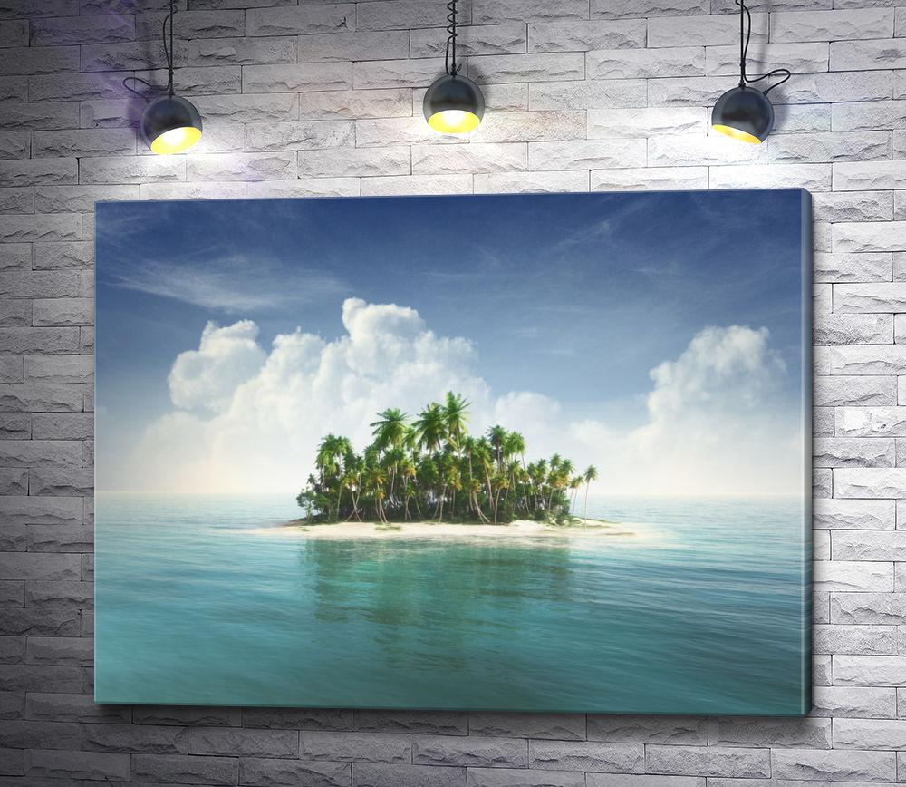 "Картина ""Остров в океане"""
