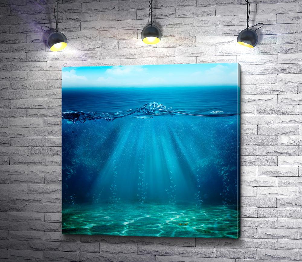 """Картина """"Секреты океана"""""""