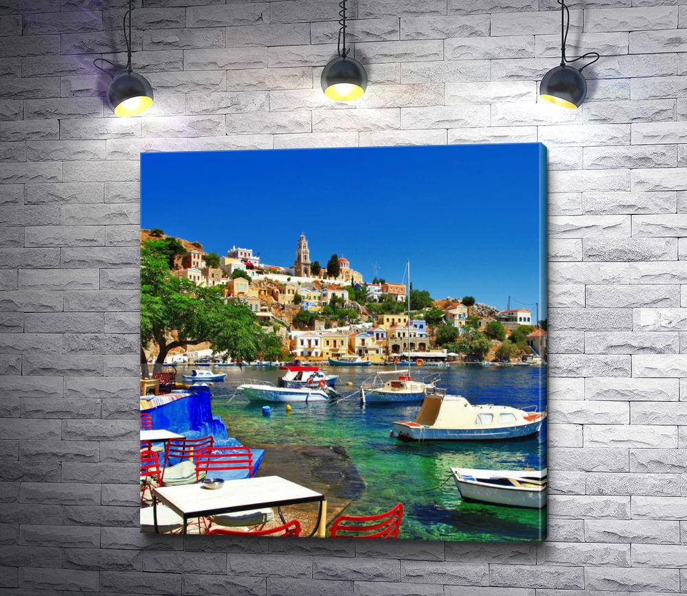 """Картина """"Волшебный остров Родос, Греция"""""""