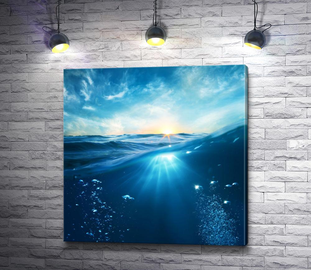 """Картина """"Вода и воздух"""""""