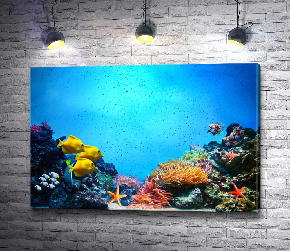 """Картина """"Подводная жизнь"""""""