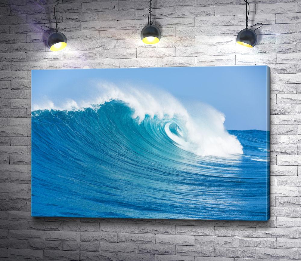 """Картина """"Голубая волна"""""""