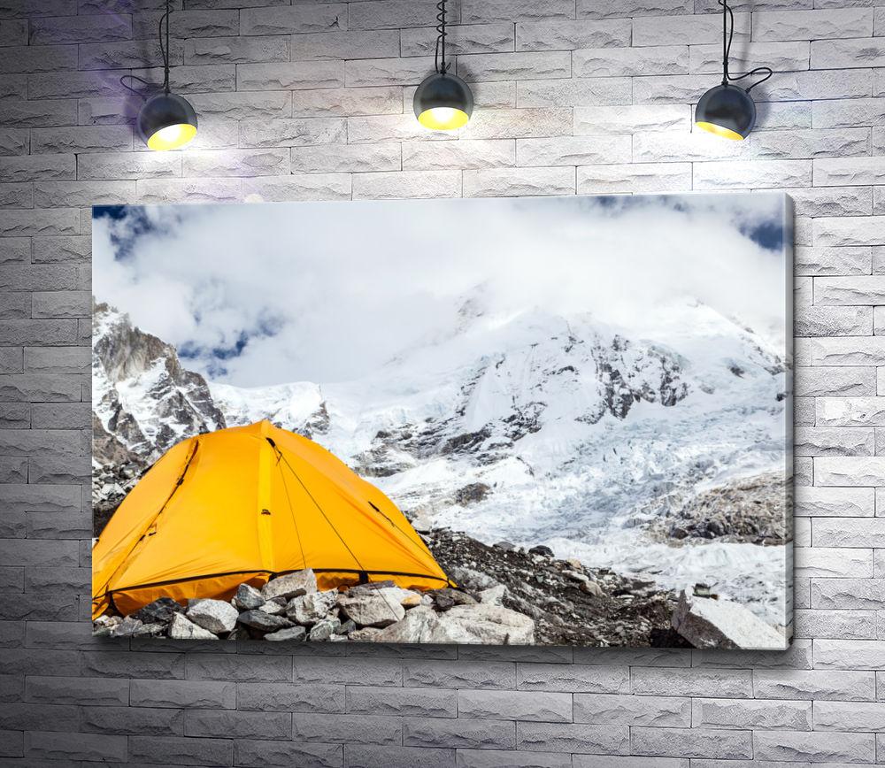 """Картина """"Палатка в горах"""""""