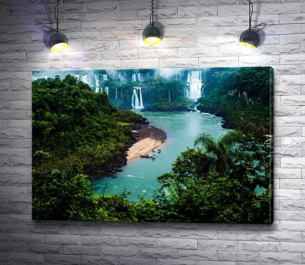 "Картина ""Парк в Бразилии"""