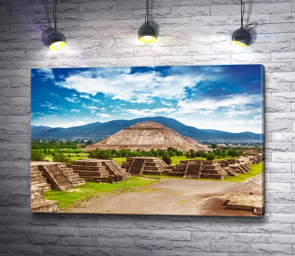 """Картина """"Пирамида Солнца"""""""