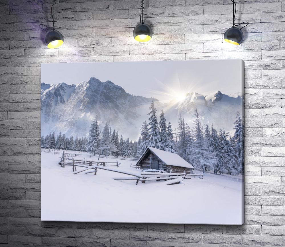 """Картина """"Зимнее спокойствие"""""""