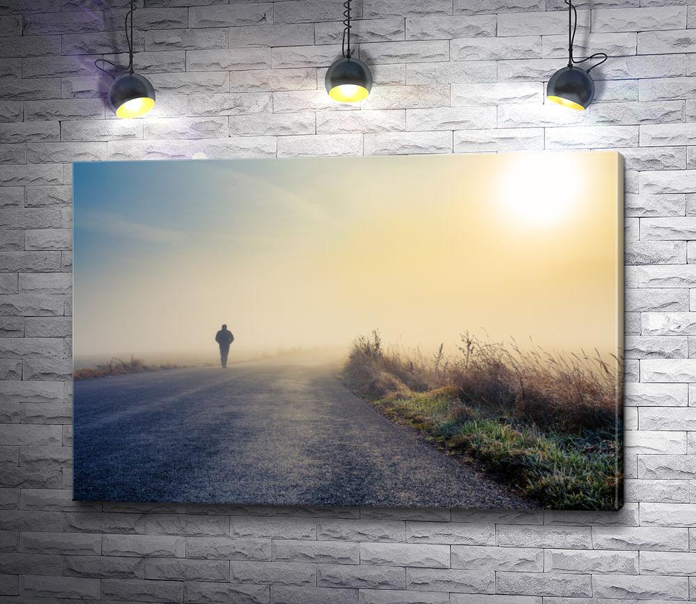 """Картина """"Человек идущий по дороге"""""""