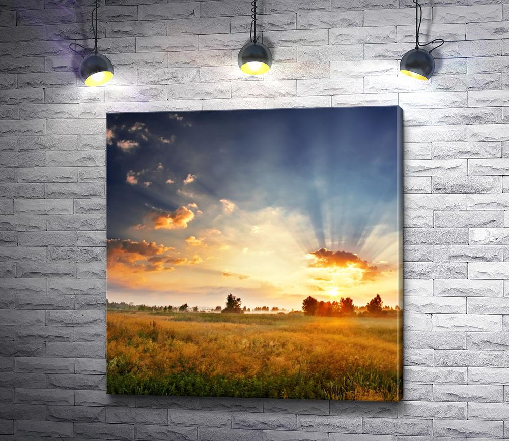 """Картина """"Невероятный закат"""""""