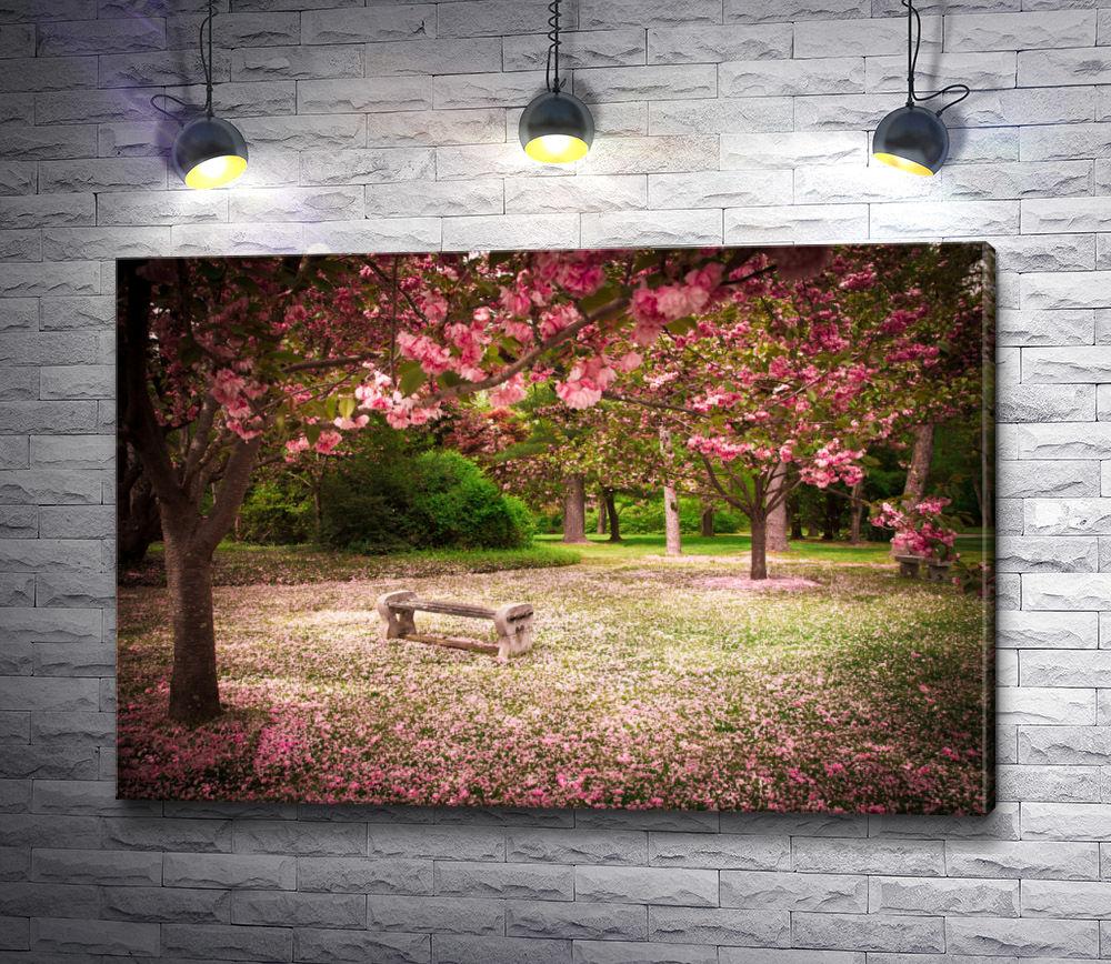 """Картина """"Цветущие деревья"""""""