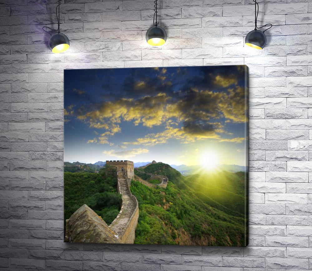"""Картина """"Великая Китайская стена, Пекин"""""""