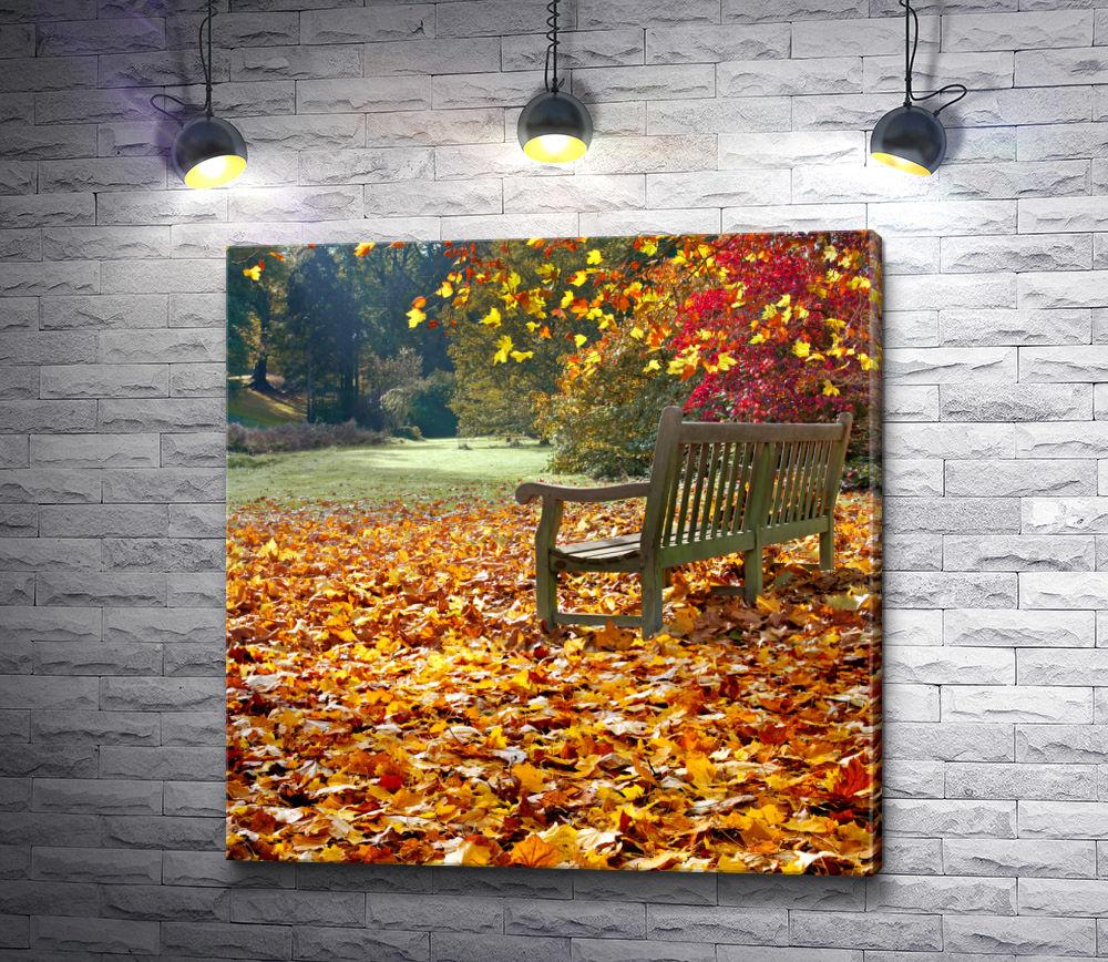 """Картина """"Осенняя погода"""""""