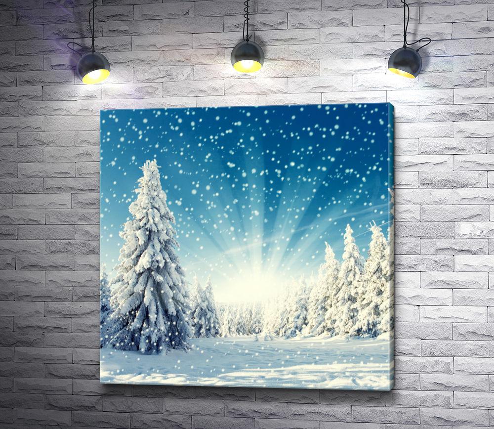 "Картина ""Снег идет"""