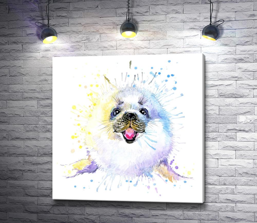 "Картина ""Самый милый морской котик"""