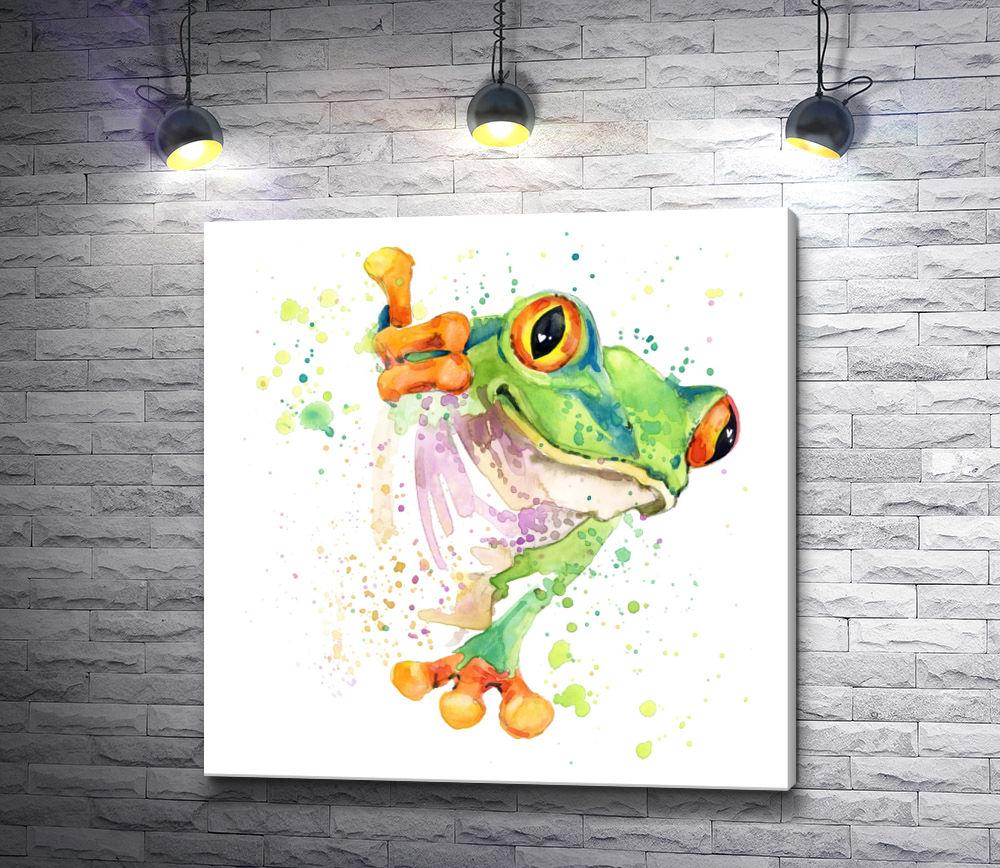 "Картина ""Лягушка, которая танцует"""