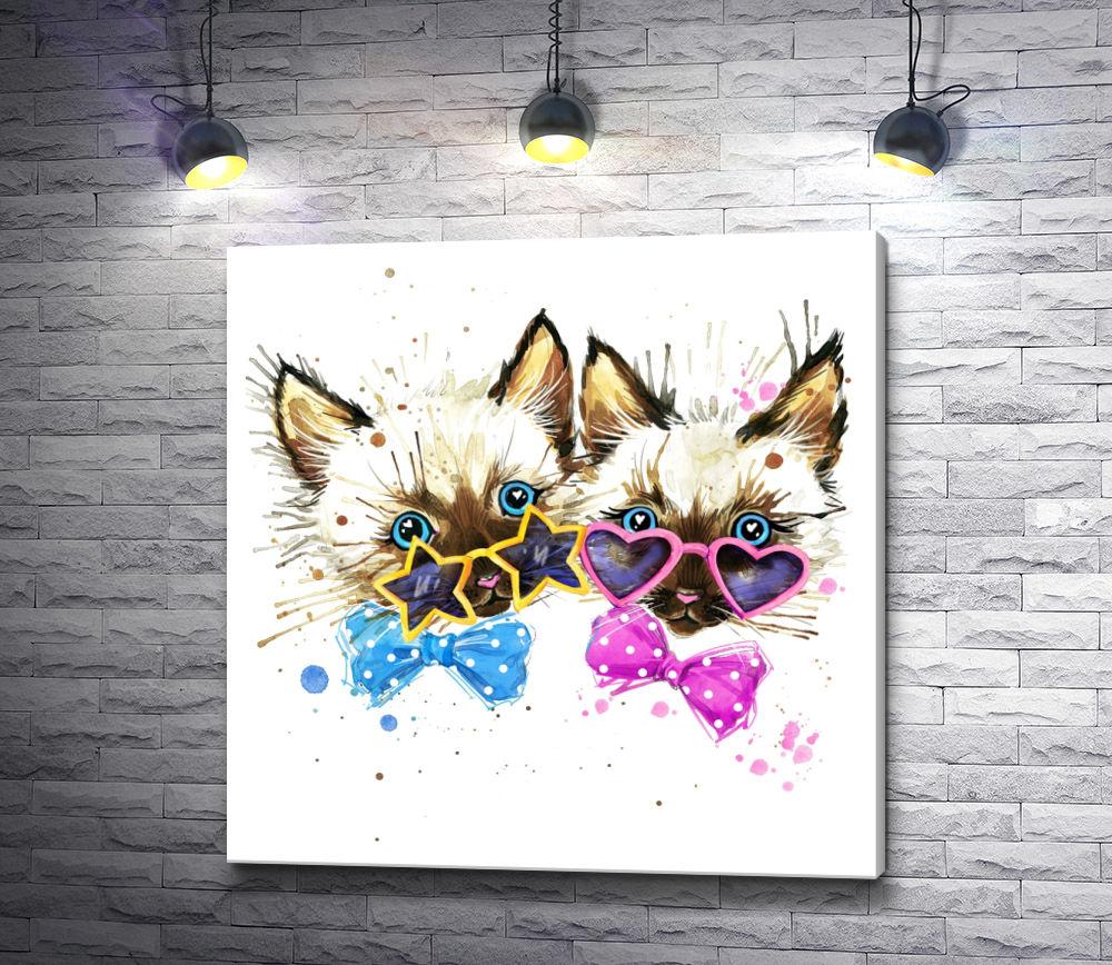 "Картина ""Милые котята"""
