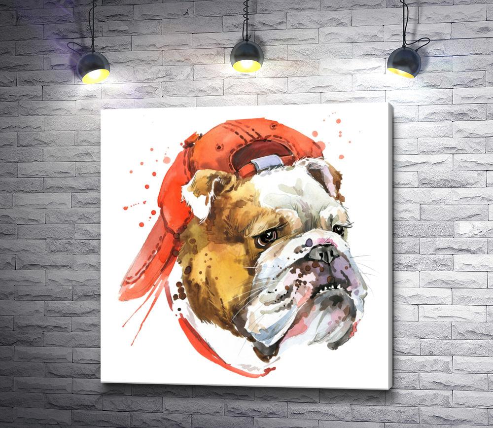 "Картина ""Пес в шляпе"""