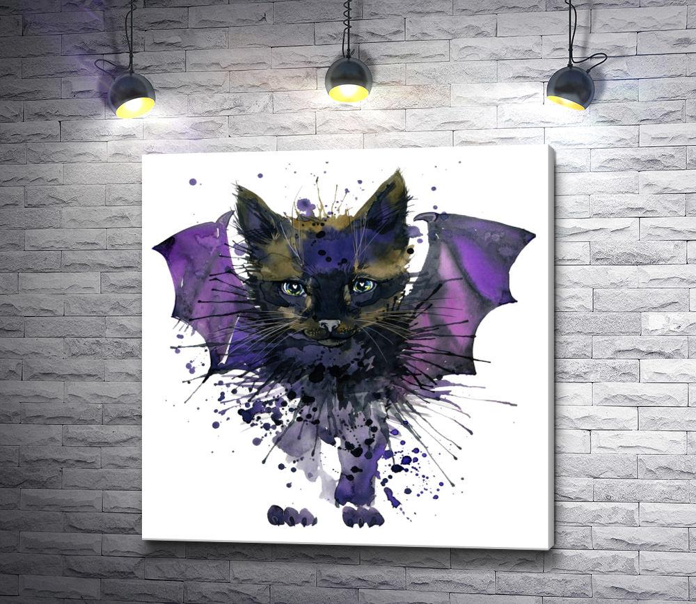 """Картина """"Летучий кот"""""""