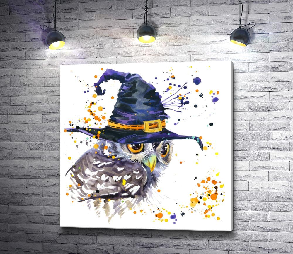 """Картина """"Ночной волшебник"""""""