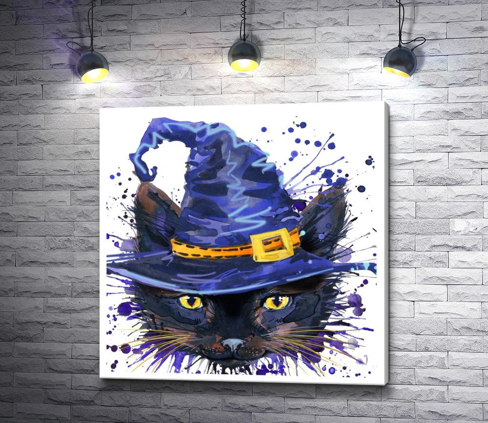 """Картина """"Кот в шляпе"""""""