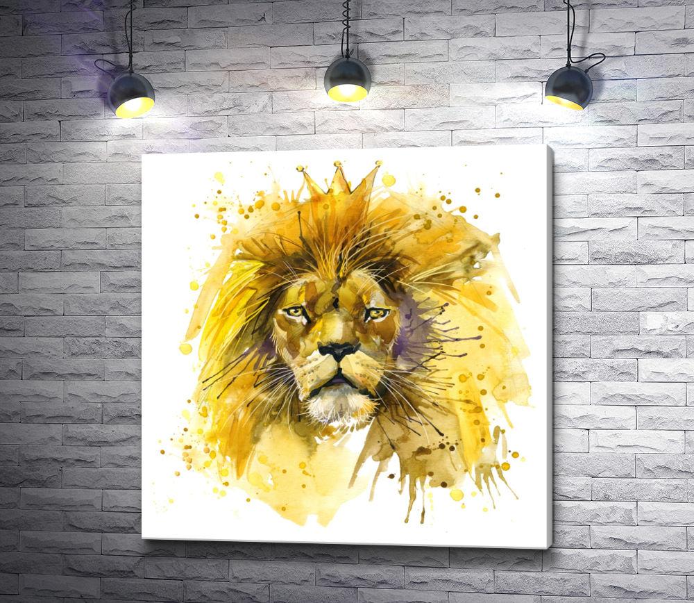 """Картина """"Царь зверей"""""""