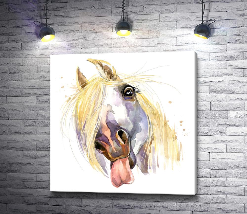 """Картина """"Потешная лошадь"""""""
