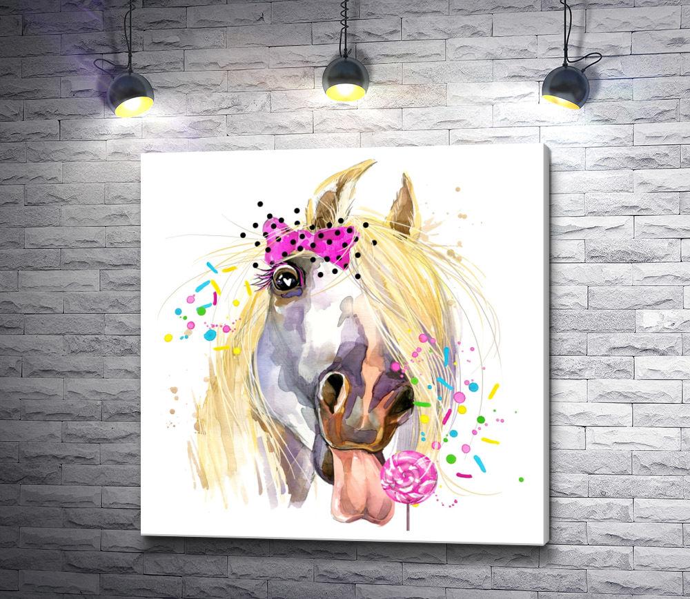 """Картина """"Веселая лошадка"""""""